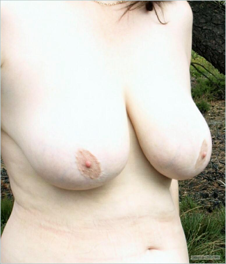 Tit Flash: My Friend's Big Tits - Carole from United Kingdom